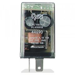 Grote 16-Lamp Electronic 2-Pin Flasher - 44690