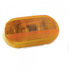 Grote 2-Bulb Oval Pigtail-Type Marker Lights - 45263