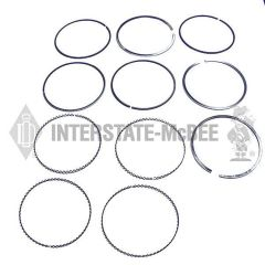 Interstate-McBee V92 Wide Piston Ring Kit - A-23524349