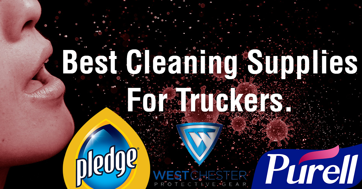 Top 5 Cleaning Supplies For Truckers