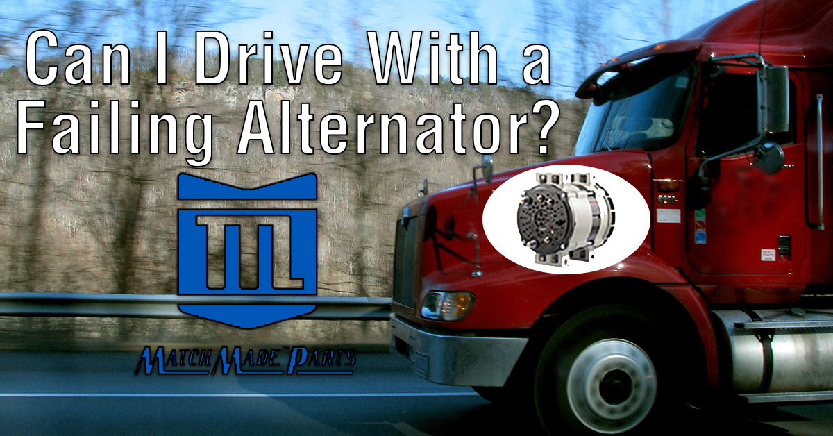 Can I Drive With a Failing Alternator?