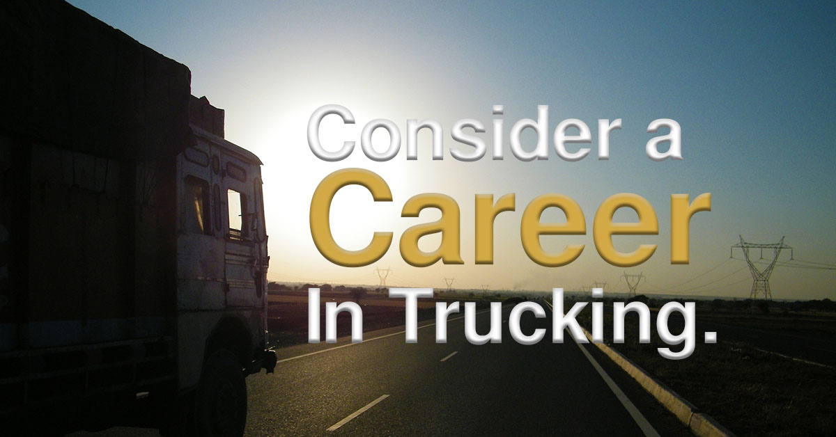 Truck Driving As a Career