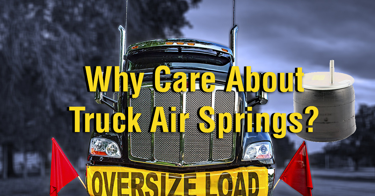 Why Care About Air Springs