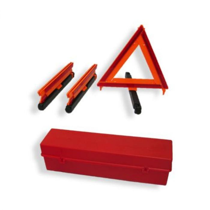 Emergency triangle kit for truckers