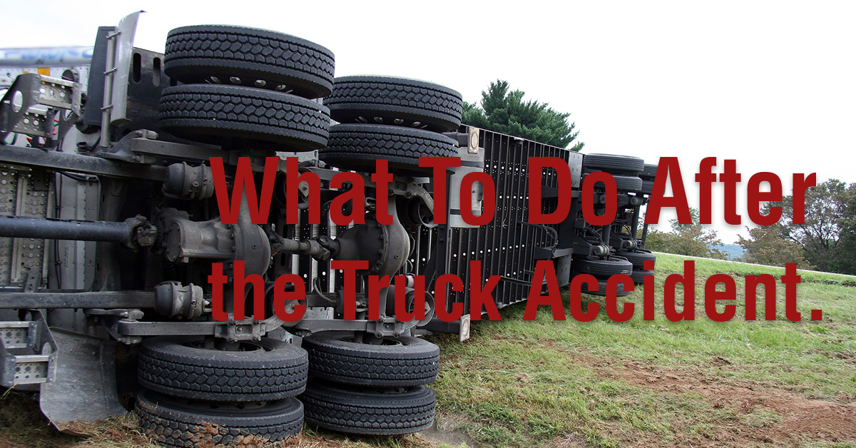 What Truckers Should Do After Road Accident